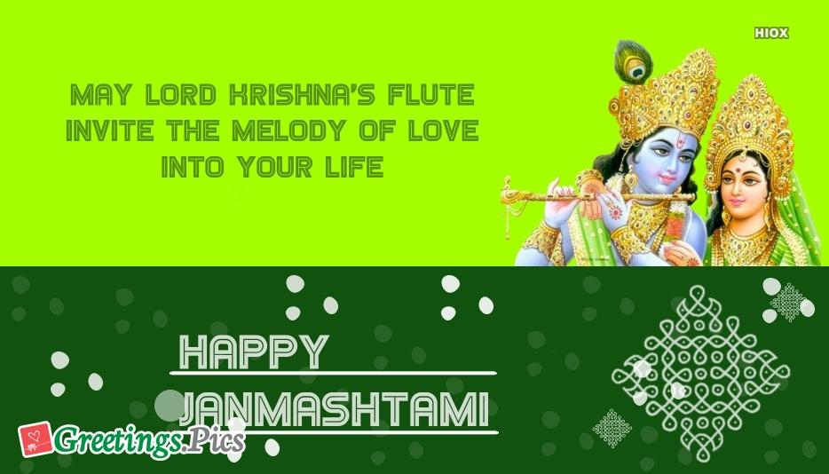 happy janmashtami greeting cards