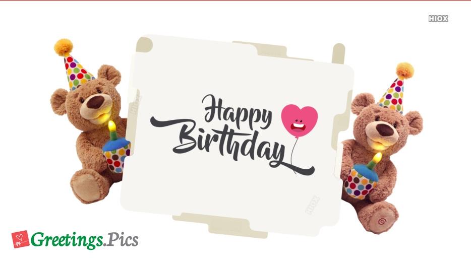 Birthday Greetings To Crush