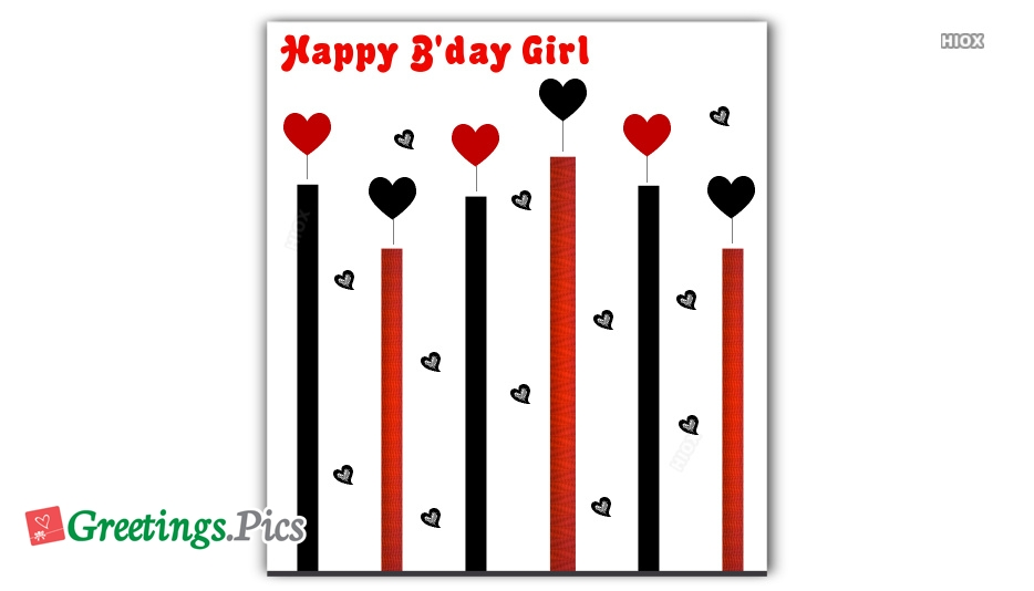 Birthday Greetings To Girl