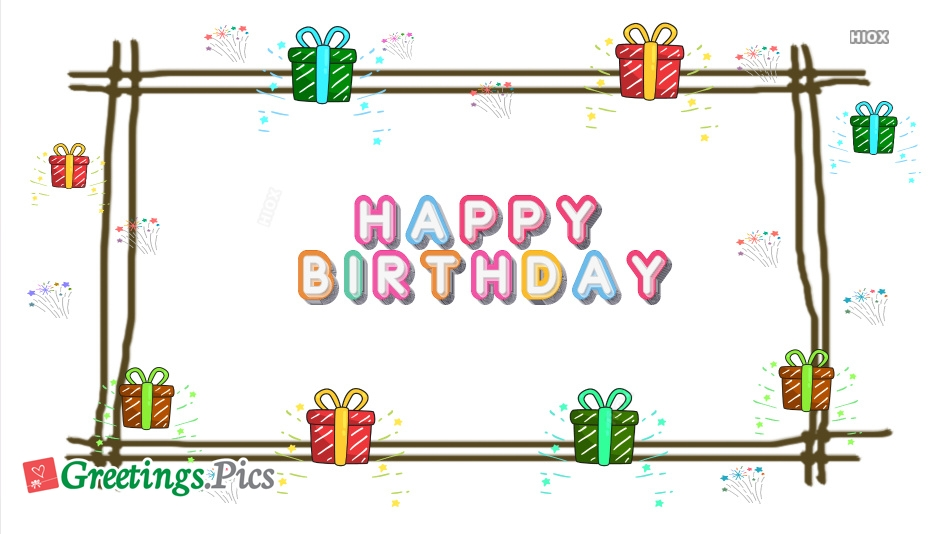 Happy Birthday Greetings, eCards, Images