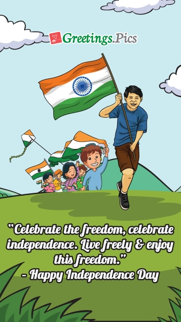Celebrate The Freedom. Happy Independence Day