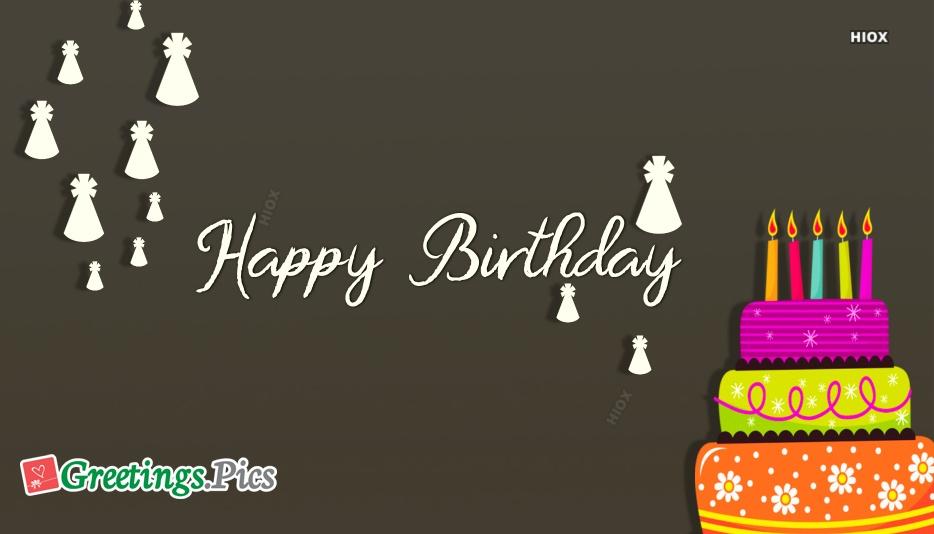 Colorful Birthday Cake Designs