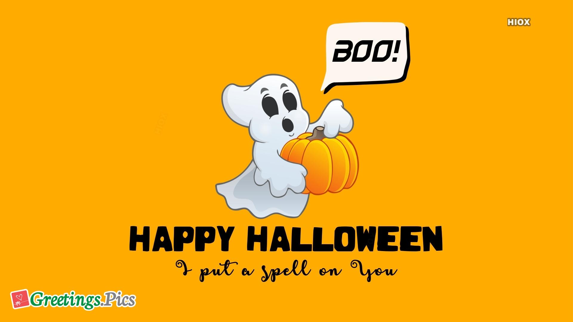 Cute Happy Halloween Greetings