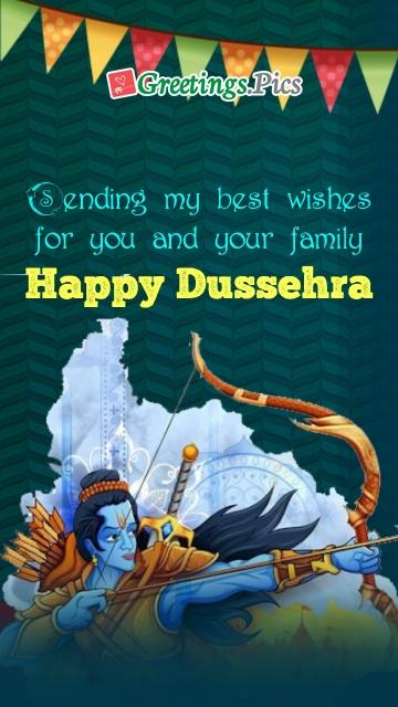 Dussehra Festival Greetings
