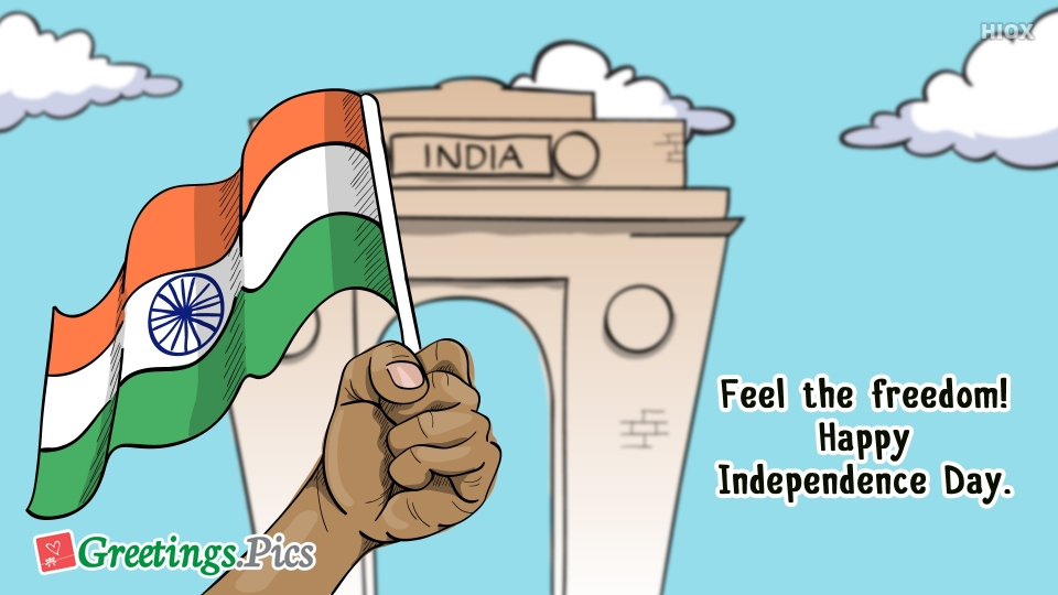 Feel The Freedom! Happy Independence Day.