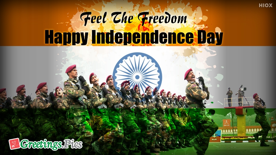 Feel The Freedom. Happy Independence Day.