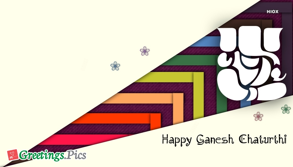 Happy Ganesh Chaturthi Greetings Cards