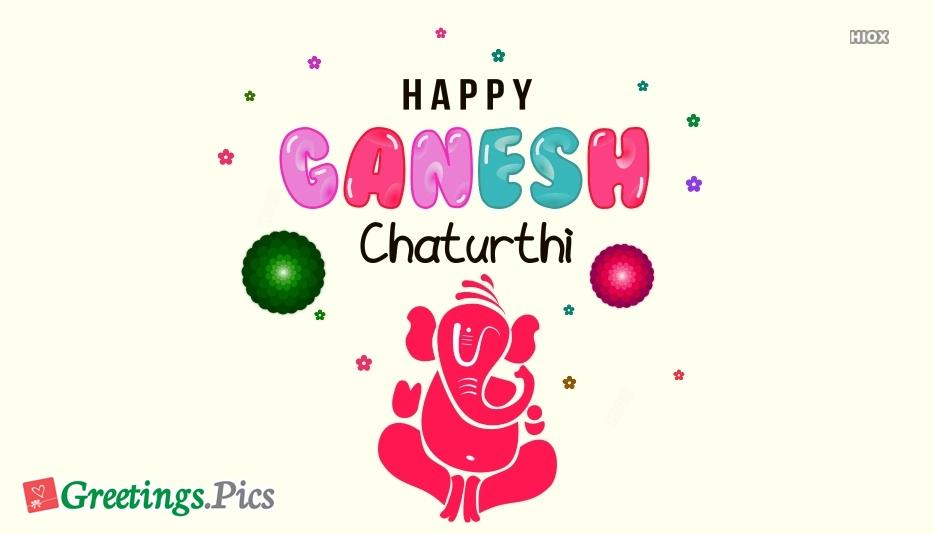 Ganesh Chaturthi Vector