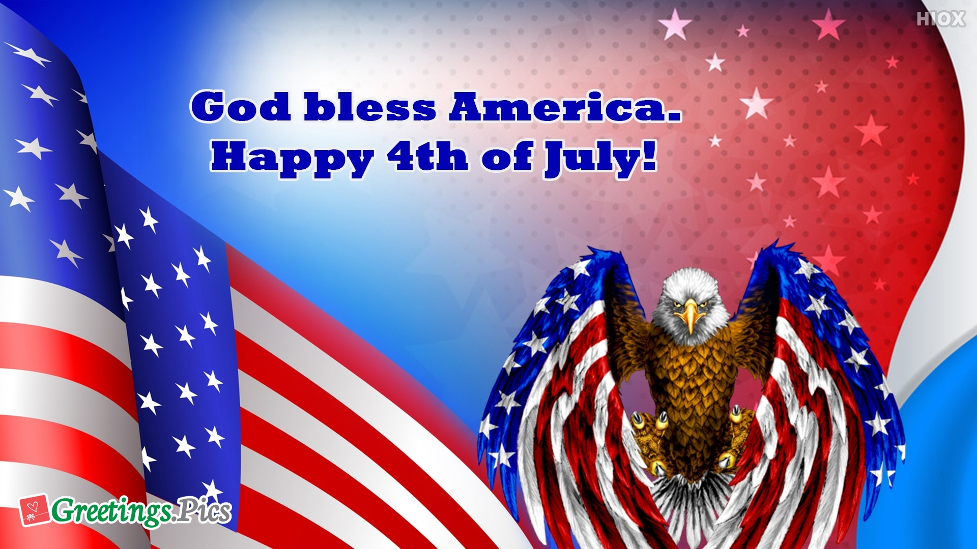 God Bless America. Happy 4th Of July!