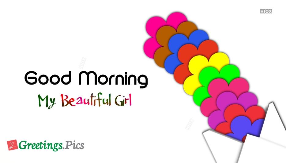 Good Morning Beautiful Girlfriend
