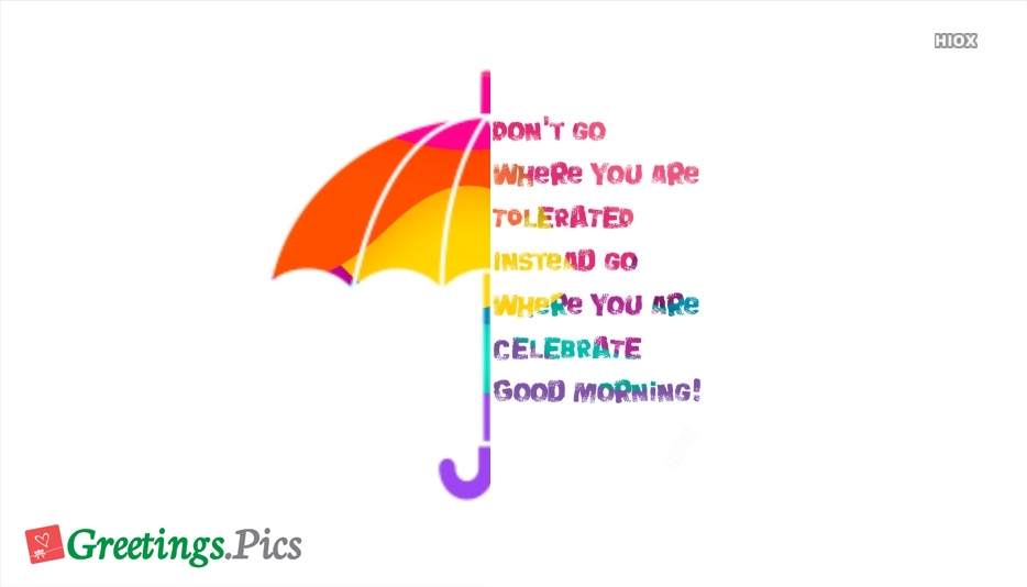 Good Morning Beautiful Status
