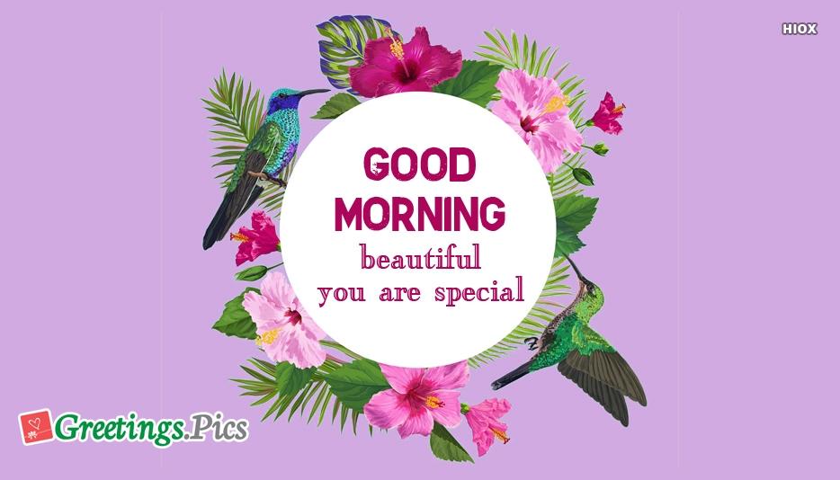 Good Morning My Love Greetings