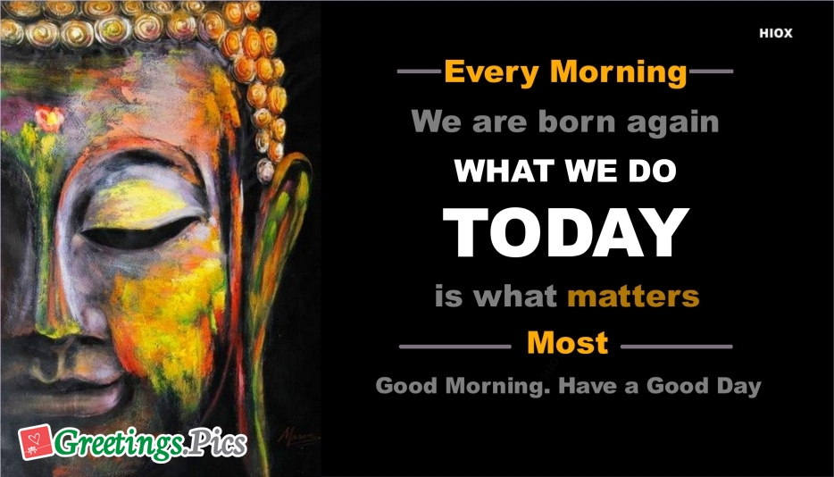 Good Morning Quotes Greetings