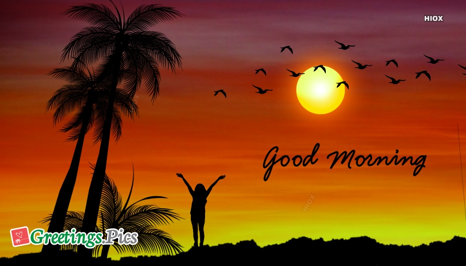 Good Morning Greeting Cards For Her