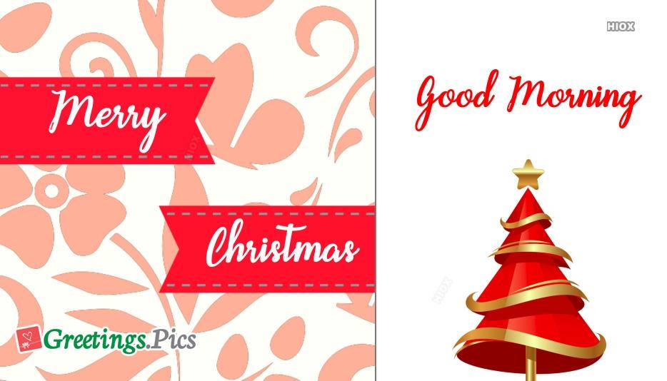 Good Morning Merry Christmas Gif