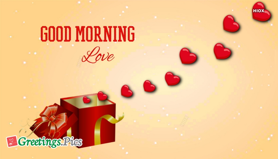 Good Morning Of Love