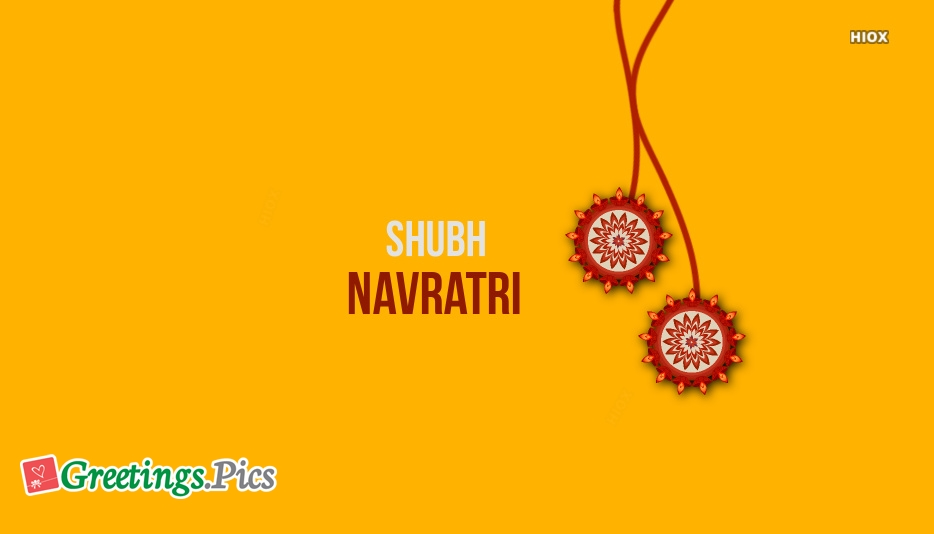 Good Morning With Navratri