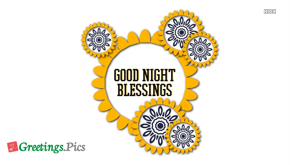 Good Night and Blessings