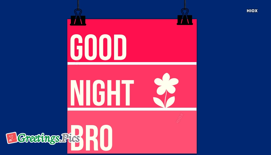 Good Night Brother