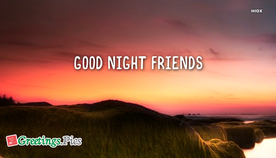 good night ecards for friends