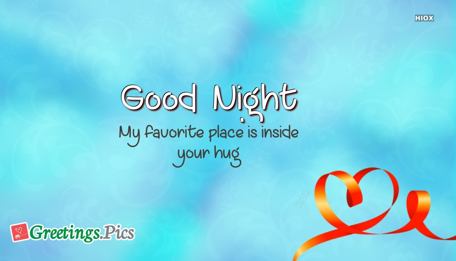 Good Night Greetings to Loved One Image