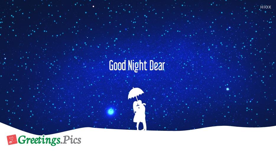 Good Night Greetings To Girlfriend