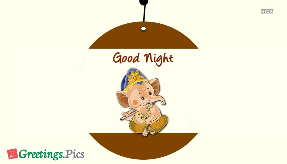 Good Night With Ganesha