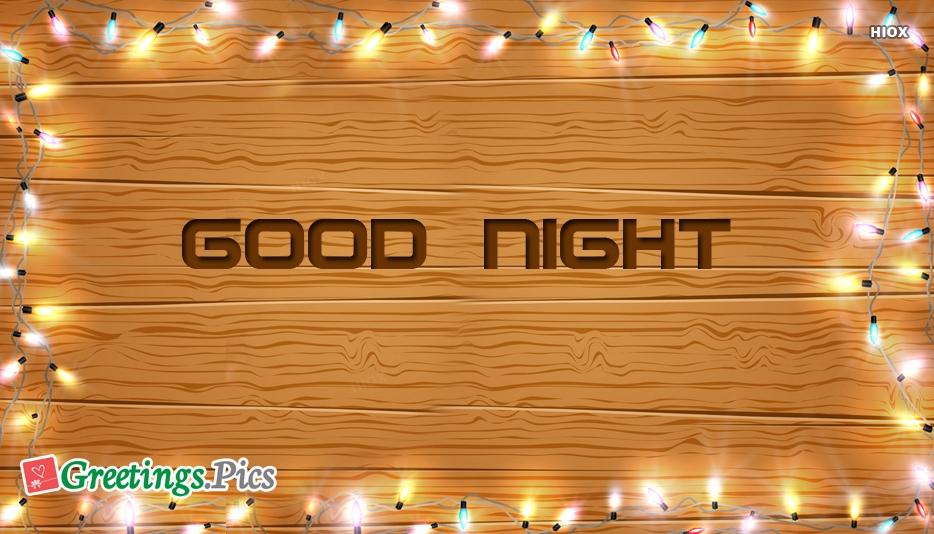 Good Night With Light
