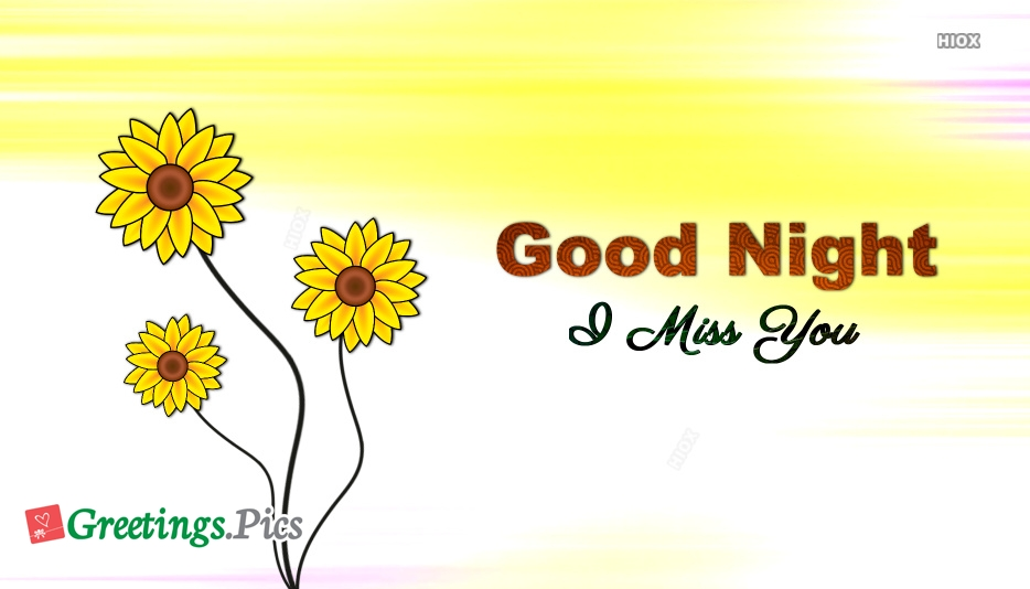 Good Night With Miss U Images