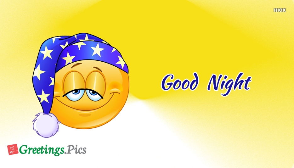 Good Night With Smile