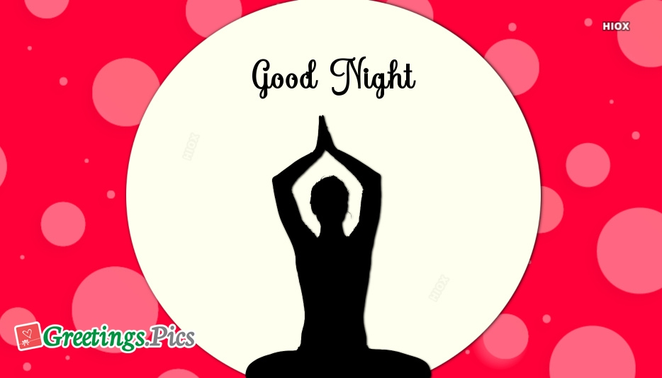 Good Night With Yoga