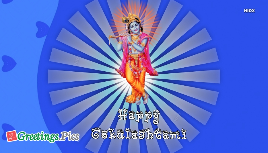 Happy Gokulashtami Greeting