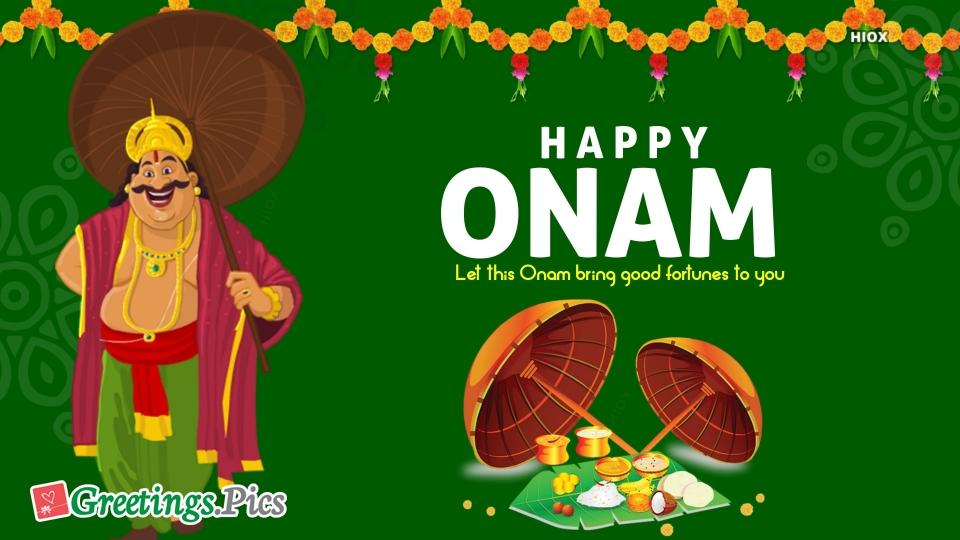 Greetings For Onam Festival
