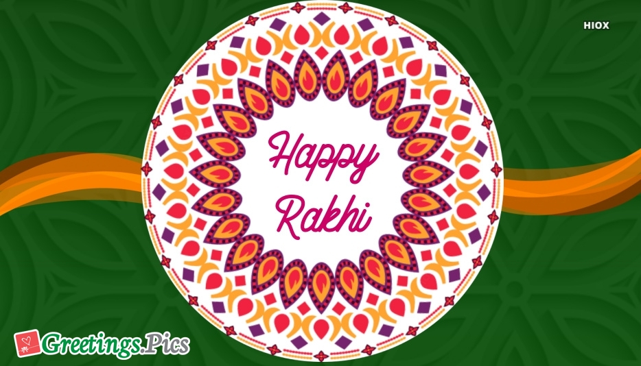 Rakhi Greeting Image for Download