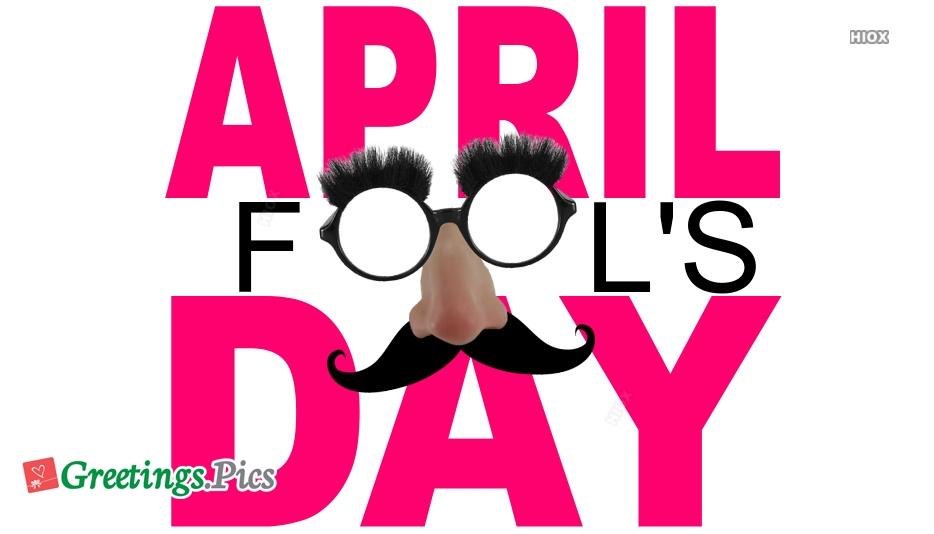 April Fools Day Greetings