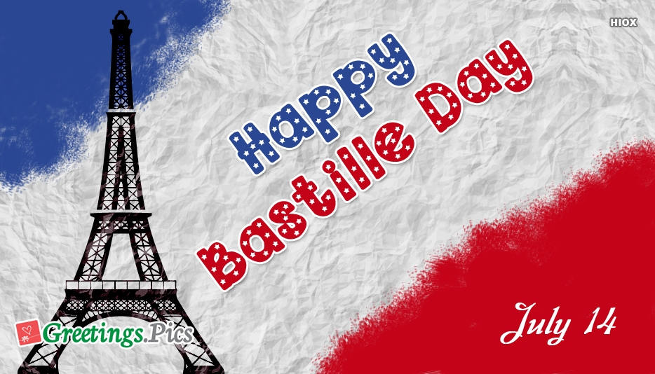 Happy Bastille Day 2019 Greetings