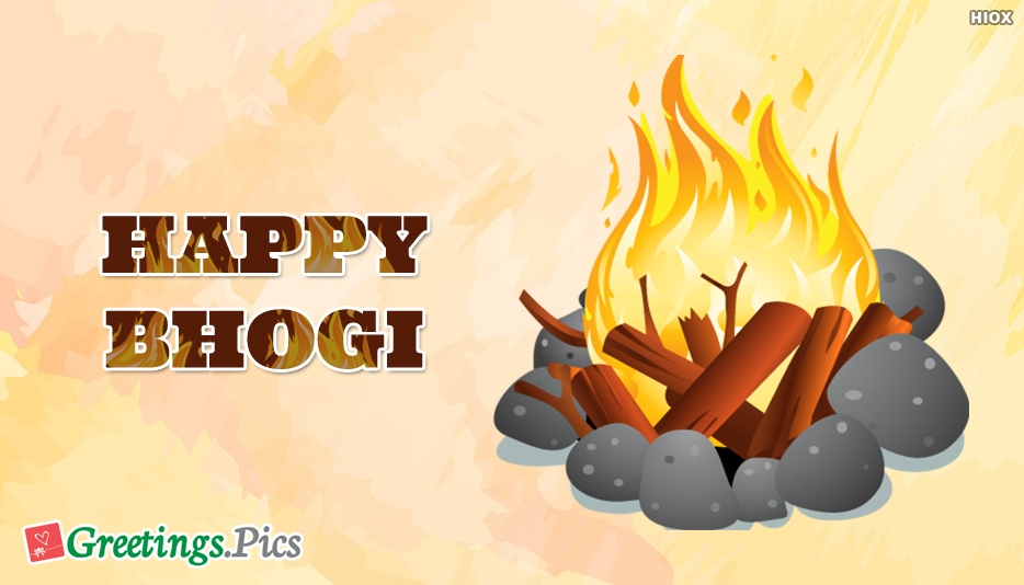 Happy Bhogi Wallpaper