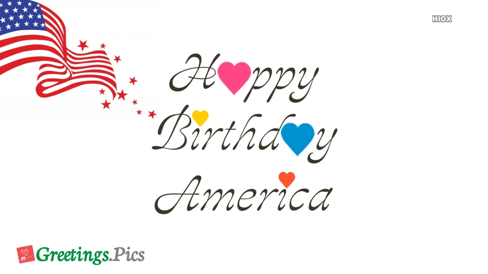 Happy Birthday America Images