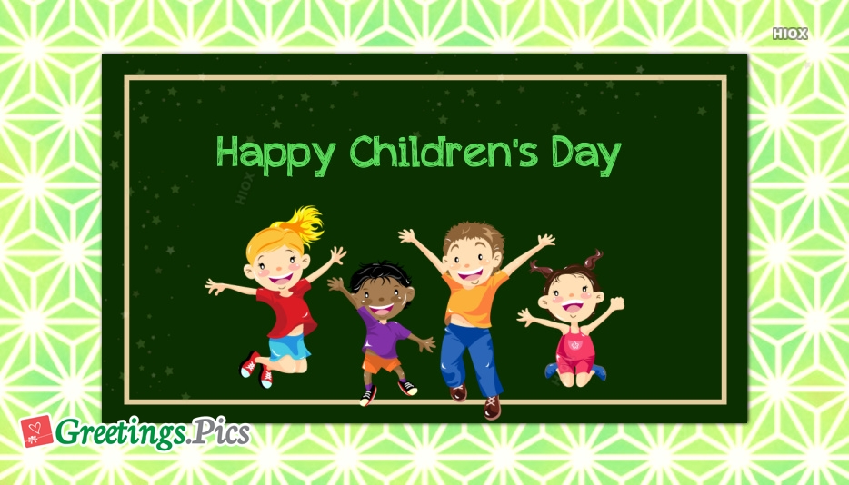 Happy Childrens Day Photos
