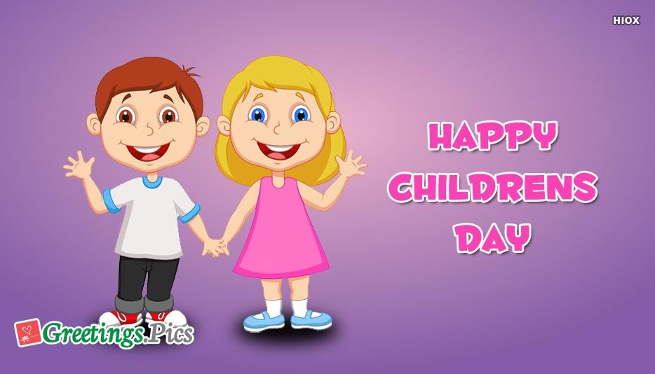 Happy Childrens Day Wallpaper