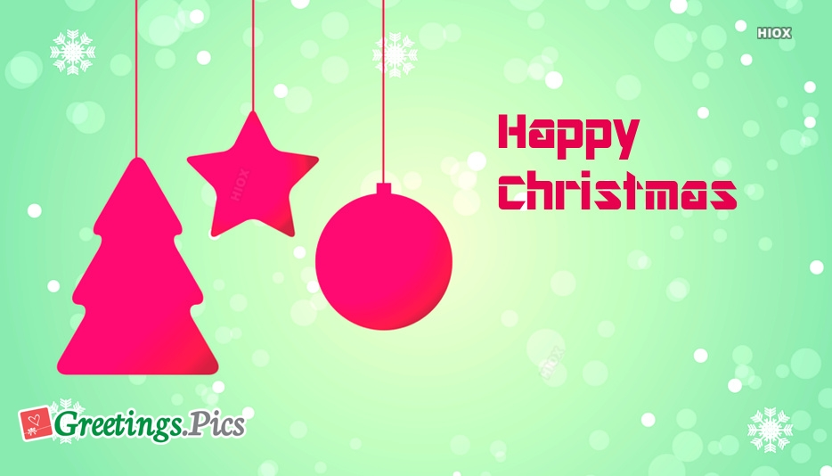 Happy Christmas 2018 Images