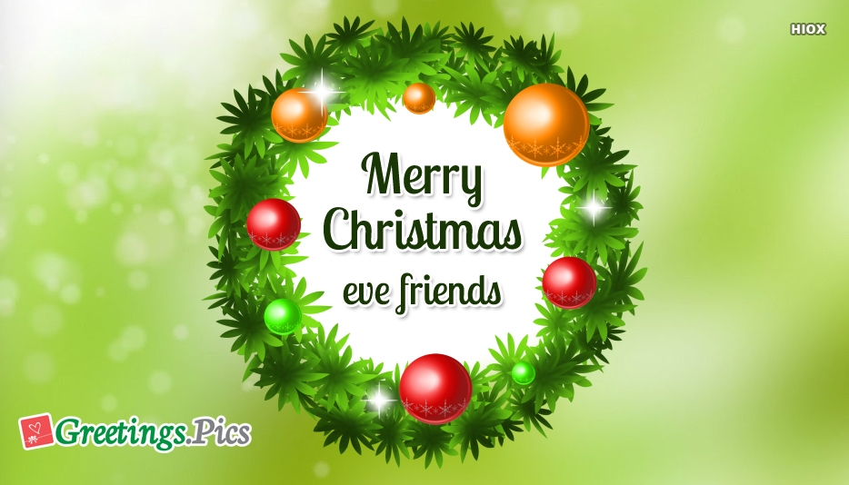 Merry Christmas Friends Greetings
