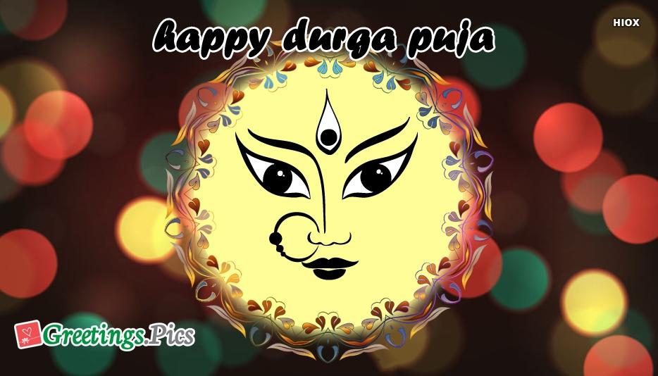 Happy Durga Puja Pic