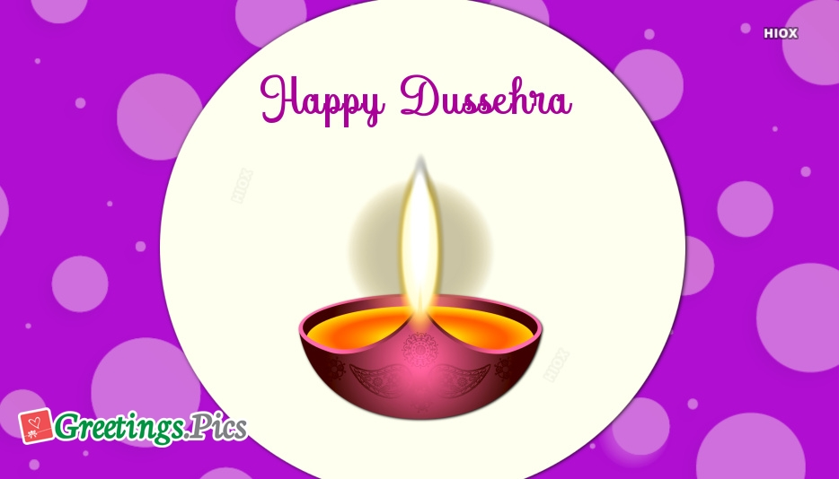 Happy Dussehra Greetings Images