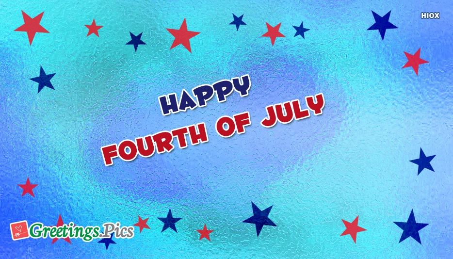 Happy Fourth Of July With Love