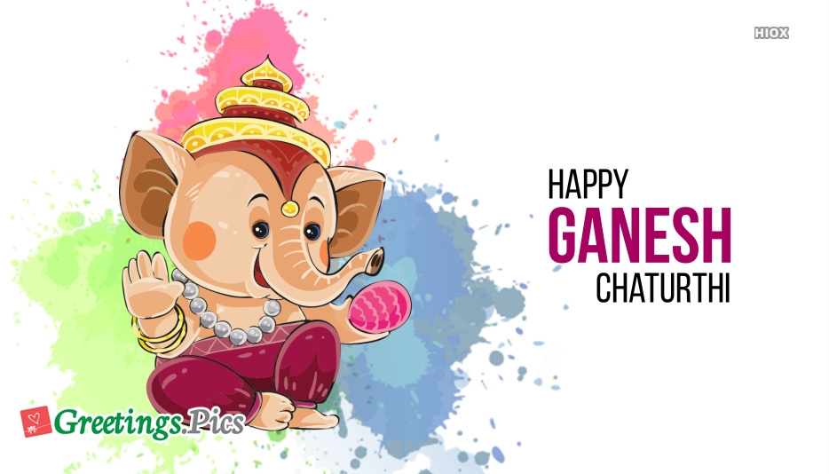 Happy Ganesh Chaturthi 2019 Images