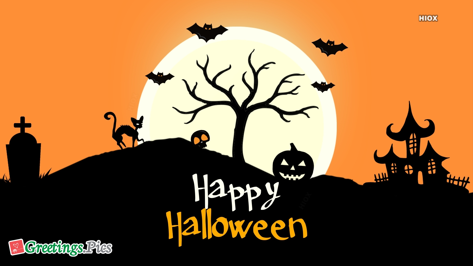 Happy Halloween Background Wallpaper