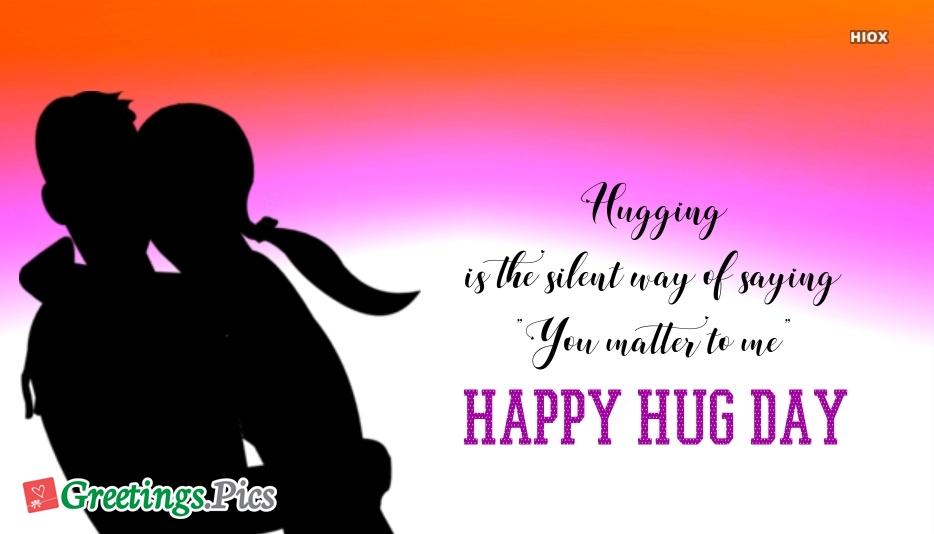 Happy Hug Day Baby