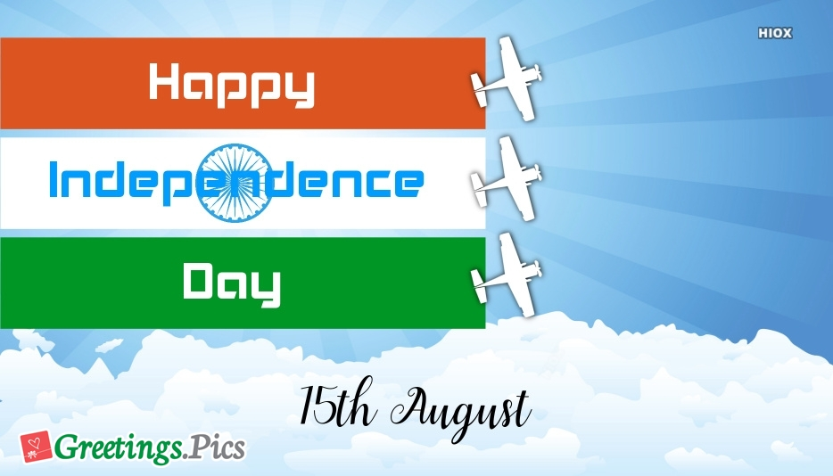 Happy Independence Day 15th August
