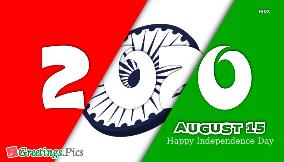 Independence Day 2020 Greetings